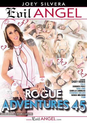 Rogue Adventures 45 from Evil Angel: Joey Silvera front cover