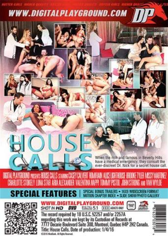 House Calls from Digital Playground back cover