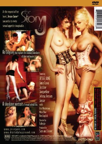 The Story Of J from Digital Playground back cover