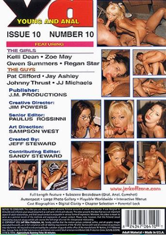 Young And Anal 10 from JM Productions back cover