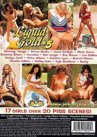 Liquid Gold 5 from JM Productions back cover