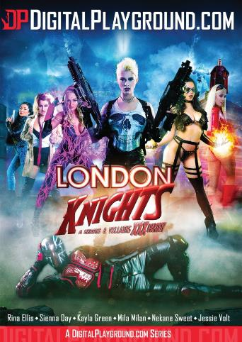 London Knights A Heroes And Villians XXX Parody from Digital Playground front cover