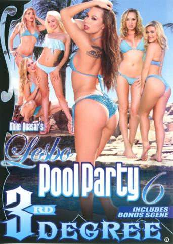 Lesbo Pool Party 6 from 3rd Degree front cover
