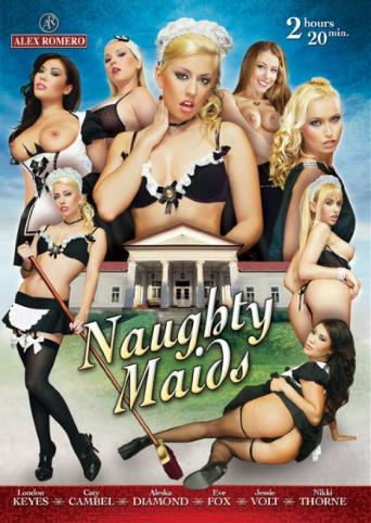 Naughty Maids from Alex Romero front cover