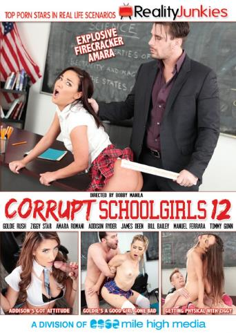 Corrupt Schoolgirls 12 from Reality Junkies front cover