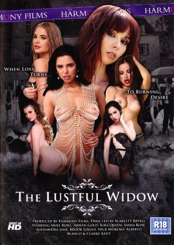 The Lustful Widow from Harmony front cover
