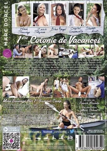 Mina Sauvage Her 1St Summer Camp from Marc Dorcel back cover