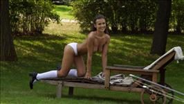 Mina Sauvage Her 1St Summer Camp Scene 5