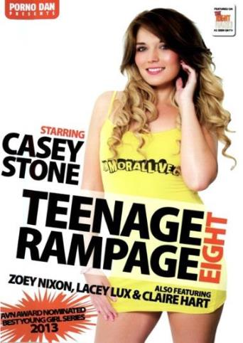 Teenage Rampage 8 from Porno Dan Presents front cover