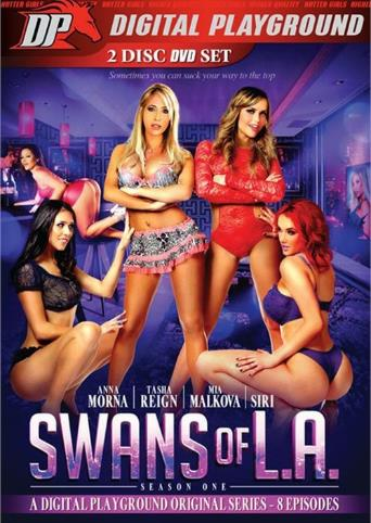 Swans Of L.A. from Digital Playground front cover