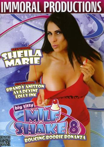 Big Titty MILF Shake 8 from Immoral Productions front cover
