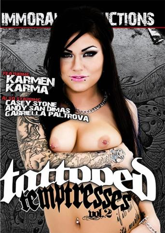 Tattooed Temptresses 2 from Immoral Productions front cover