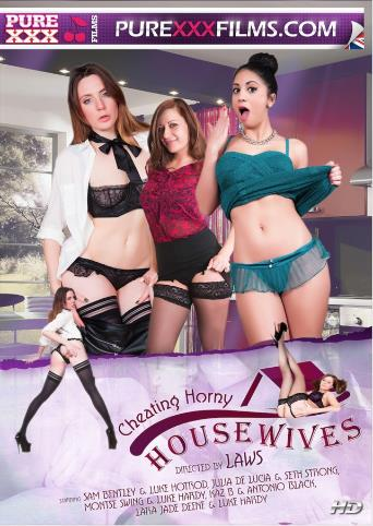 Cheating Horny Housewives from Pure XXX Films front cover