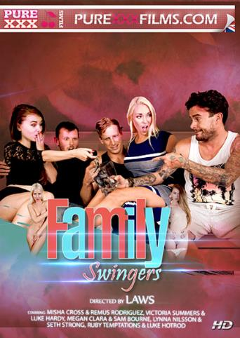 Family Swingers from Pure XXX Films front cover
