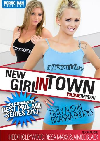 New Girl In Town 13 from Porno Dan Presents front cover