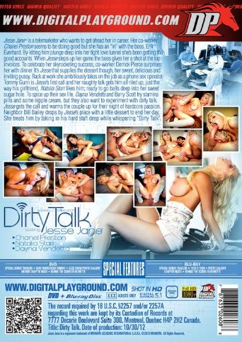 Dirty Talk from Digital Playground back cover
