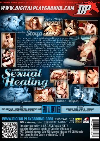 Sexual Healing from Digital Playground back cover