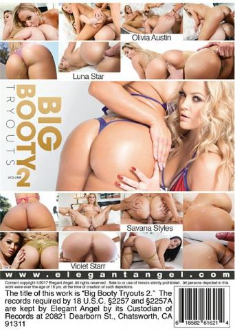 Big Booty Tryouts 2 from Elegant Angel back cover