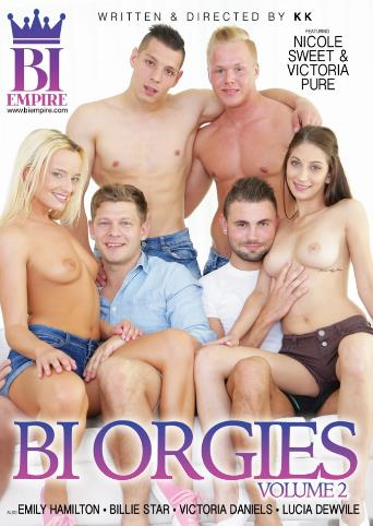 Bi Orgies 2 from Bi Empire front cover