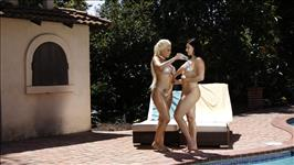 Lesbo Pool Party 7 Scene 3