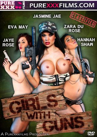 Girls With Guns from Pure XXX Films front cover
