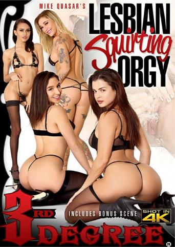 Lesbian Squirting Orgy from 3rd Degree front cover
