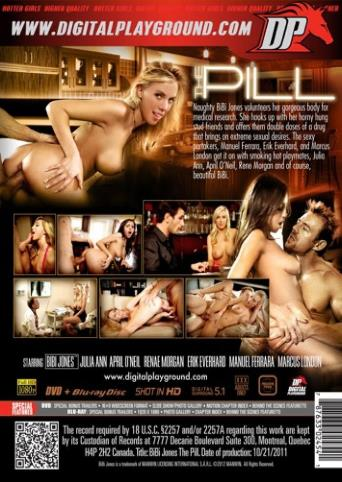The Pill from Digital Playground back cover