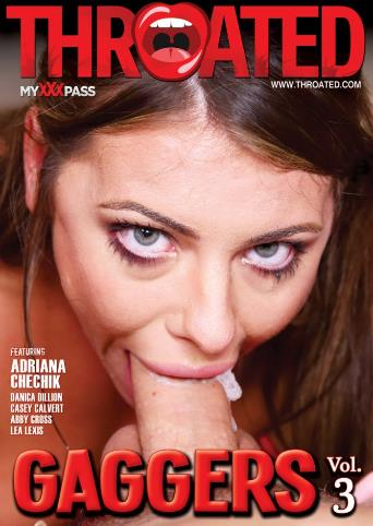 Gaggers 3 from Throated front cover