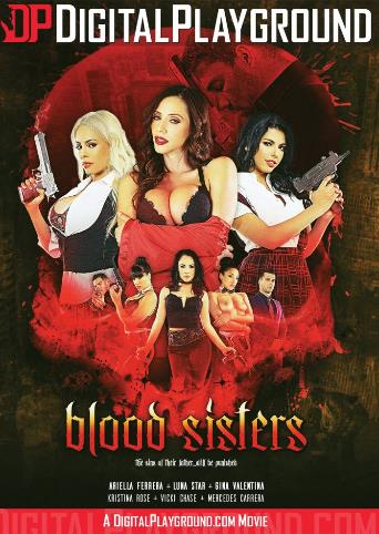 Blood Sisters from Digital Playground front cover