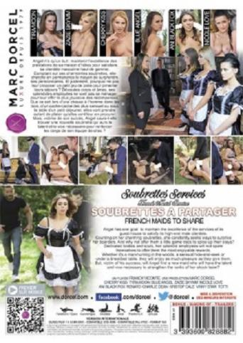 French Maids To Share from Marc Dorcel back cover