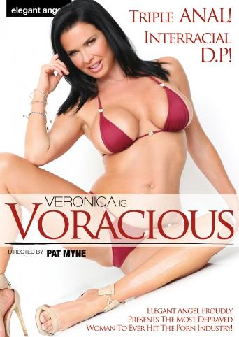 Veronica Is Voracious from Elegant Angel front cover