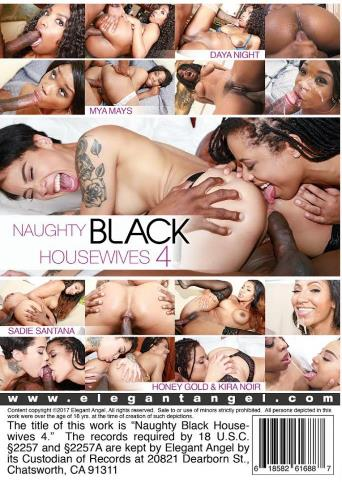 Naughty Black Housewives 4 from Elegant Angel back cover