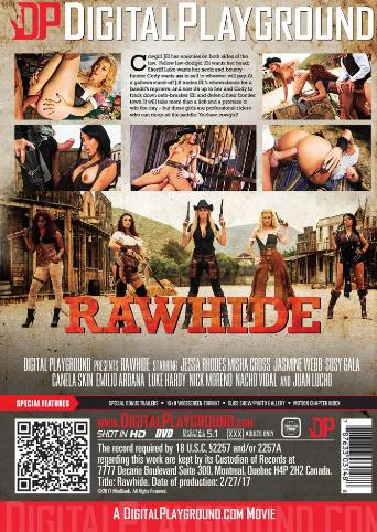 Rawhide from Digital Playground back cover