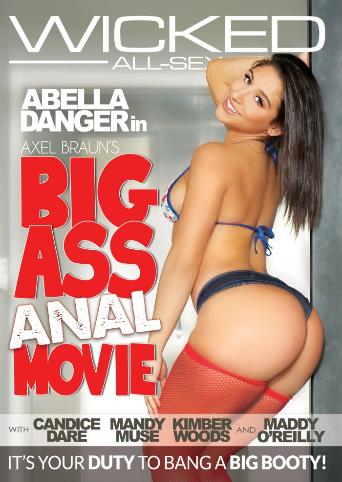 Axel Braun's Big Ass Anal Movie from Wicked front cover