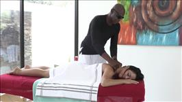 Interracial Massage 2 Scene 1