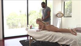 Interracial Massage 2 Scene 2