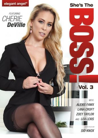 She's The Boss 3 from Elegant Angel front cover