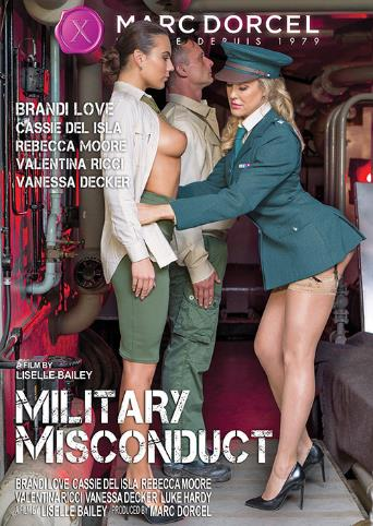 Military Misconduct from Marc Dorcel front cover