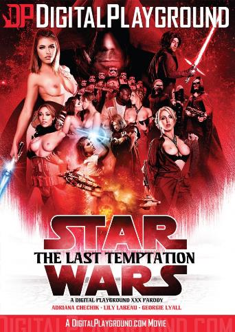 Star Wars The Last Temptation from Digital Playground front cover