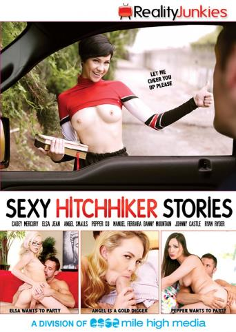 Sexy Hitchhiker Stories from Reality Junkies front cover