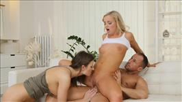 Cum Swapping Threesomes 2