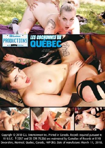 Les Cochonnes Du Quebec from My Quebec Productions back cover