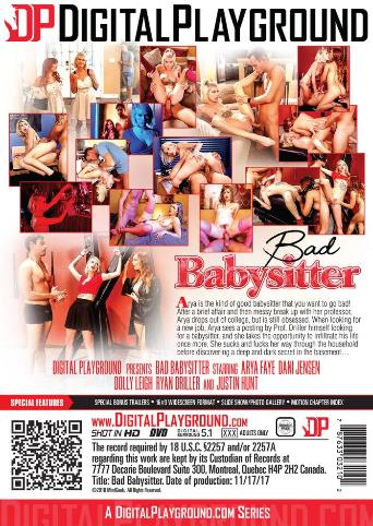 Bad Babysitter from Digital Playground back cover