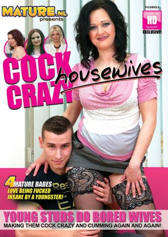 Cock Crazy Housewives from Mature front cover