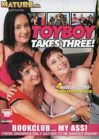 Toyboy Takes Three from Mature front cover