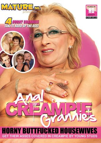 Anal Creampie Grannies from Mature front cover