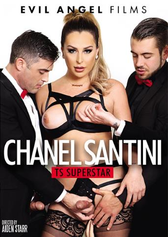Chanel Santini Ts Superstar from Evil Angel front cover