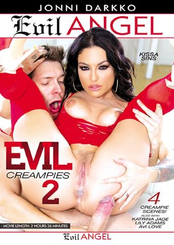Evil Creampies 2 from Evil Angel: Jonni Darkko front cover