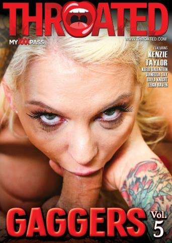 Gaggers 5 from Throated front cover