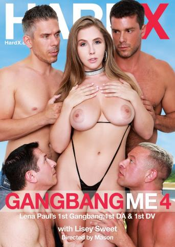 Gangbang Me 4 from Hard X front cover
